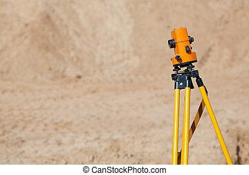 Surveyor equipment theodolite