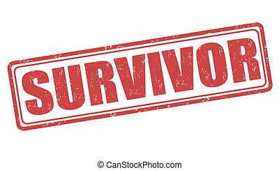 Survivor stamp