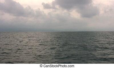 survoler, mer