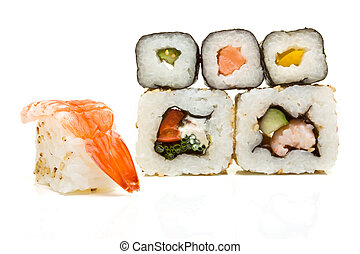 Sushi Abstract