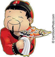 sushi cook