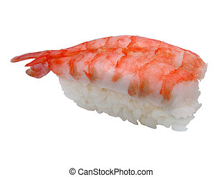 sushi, crevette