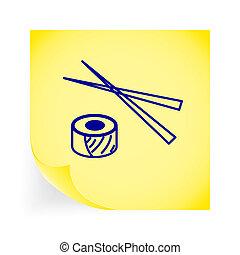 Sushi icon.