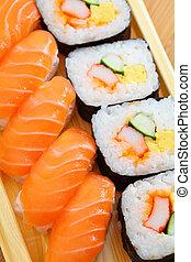 sushi, japonaise