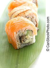 sushi, philadelphia, rulle
