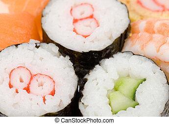 sushi, plano de fondo