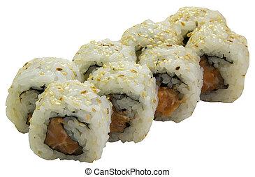 sushi, rolls, Japanese food, - sushi, rolls, Japanese food ...