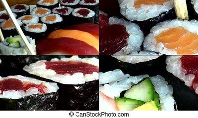 Sushi, Sashimi, Japanese Foods, Cui