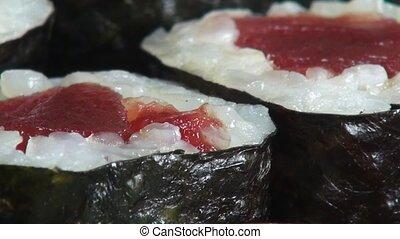 Sushi, Sashimi, Japanese Foods