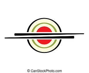 sushi, señal