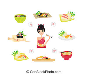 Sushi set