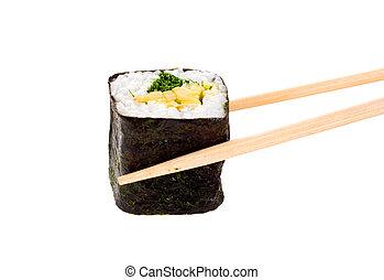sushi taked chopsticks 2