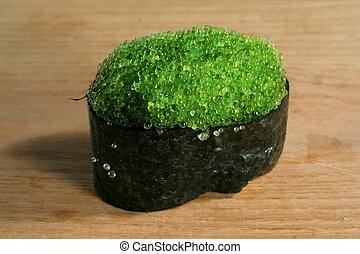 Sushi tobiko - Japanese food sushi