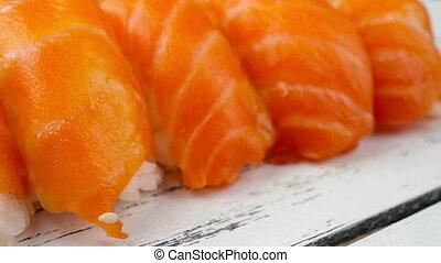 sushi, tourner