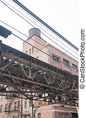 Suspended Train Track