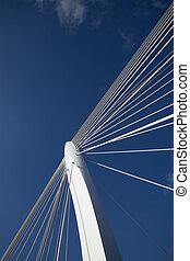 Suspension bridge 11 - Suspension bridge, Utrecht, Holland