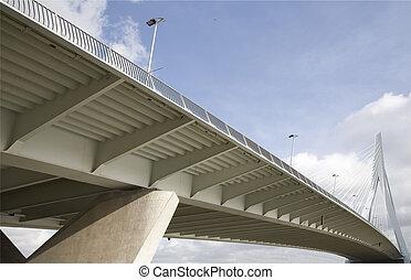 Suspension bridge 14 - Erasmus Bridge, Rotterdam, Holland