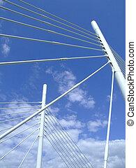 Suspension bridge details