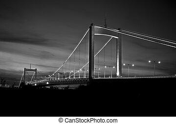 The suspension bridge called Alvsborgsbron in gothenburg Sweden