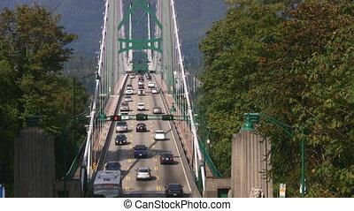 Suspension Bridge Traffic