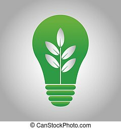 Sustainability - abstract sustainability symbol on a special...