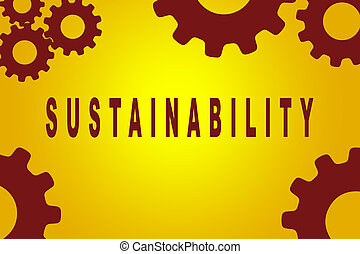 Sustainability - environmental concept