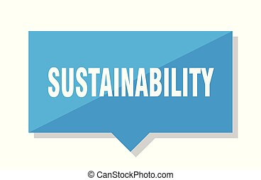 sustainability price tag