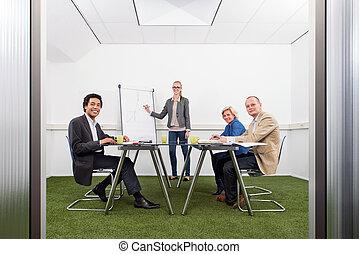 sustainability, spotkanie, strategia