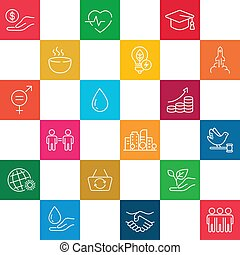 Sustainable Development Goals. Pattern