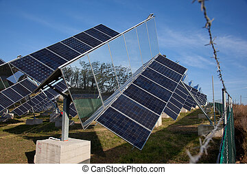 Sustainable development of energy - Sun following solar...