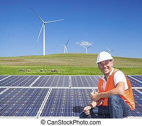 sustainable, energi, ren