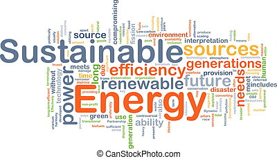 Sustainable energy background concept - Background concept ...