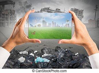 sustainable vyvolávání