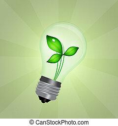 sustentável, energia