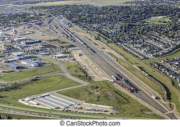 Sutherland Industrial Aerial