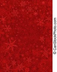 sutil, nieve, plano de fondo, rojo