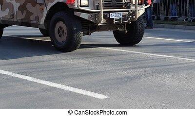 SUV Military Vehicle