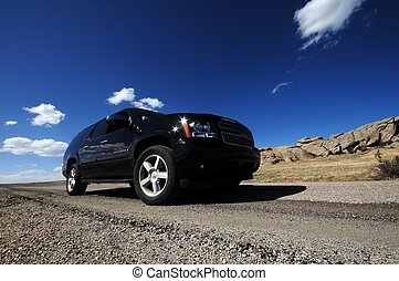 SUV on the Road