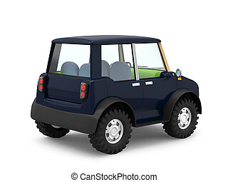 SUV small modern back