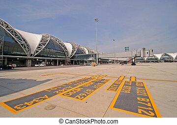 suvarnabhumi airport, Thailand.