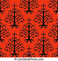 Suzani, vector ethnic pattern with Kazakh motifs - Suzani, ...
