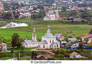 Suzdal City Aerial View, Russia