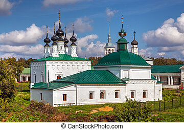 Suzdal. Friday Church and Entry into Jerusalem church