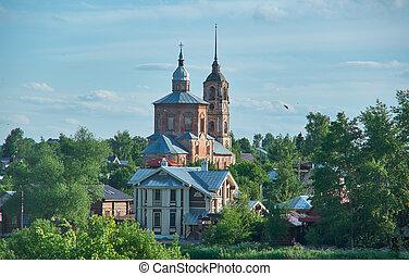 Suzdal - historic center of
