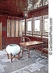 suzhou, 庭, 陶磁器