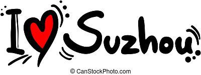 Suzhou love - Creative design of suzhou love