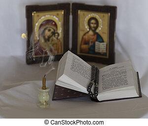 svíčka, a, evangelium