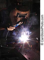 svařování ocelářský