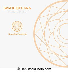 Svadhisthana- The sacral chakra which stands for sexuality and creativity