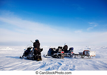 Svalbard Snowmobile Adventure